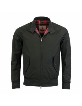 Blouson BARACUTA G9 harrington steve mcqueen Fadded Black 1016