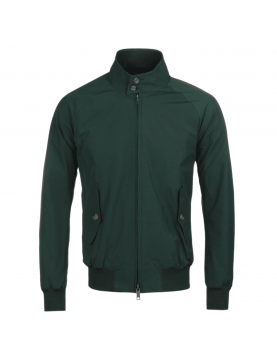 Blouson BARACUTA G9 harrington steve mcqueen Racing Green 6368 fermé