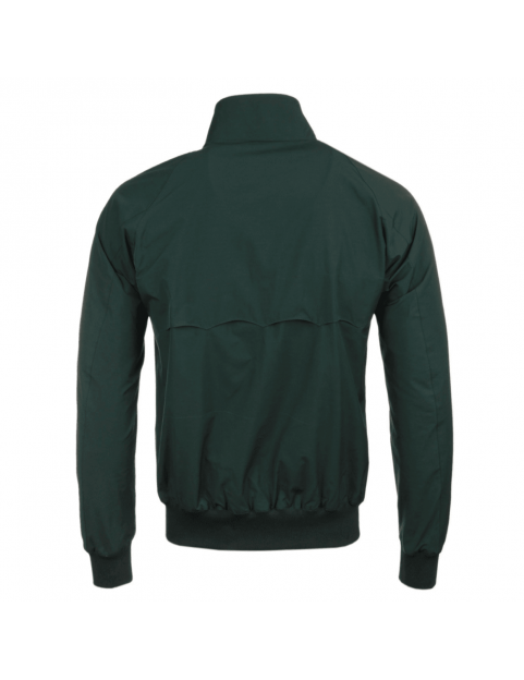 Blouson BARACUTA G9 harrington steve mcqueen Racing Green 6368 dos
