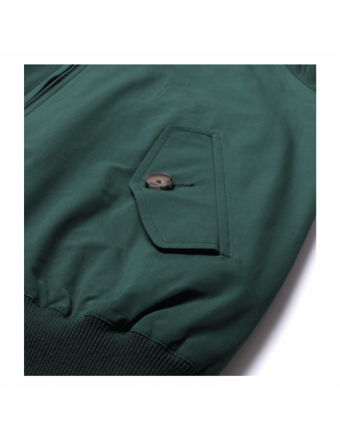 Blouson BARACUTA G9 harrington steve mcqueen Racing Green 6368 poche