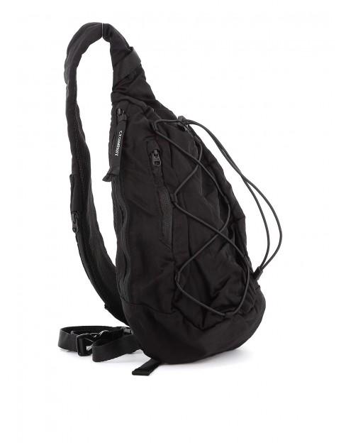 Sac C.P Company back pack nylon satin black08CMAC038A-005269G-999 coté