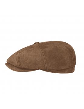 Casquette Stetson Hatteras burney marron 6897101-6