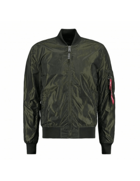 Blouson Alpha Industries MA-1 Iridium 257 Dark green