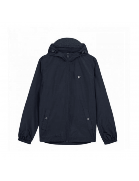 Blouson Lyle and Scott a capuche zip navy JK464V Navy Jacket