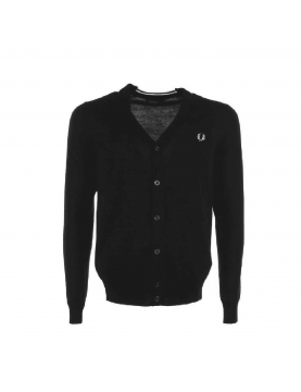 Cardigan fred Perry noir K7212-102