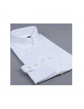 "Chemise DNA Groove ML ""Aosta"" blanche"