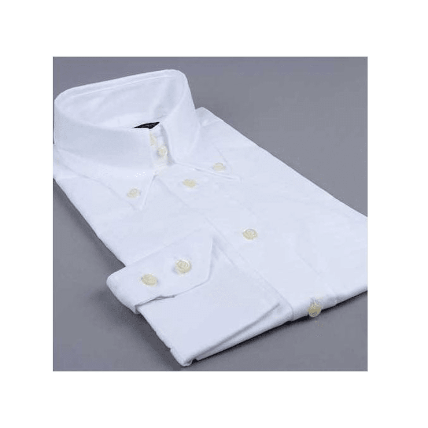 """Chemise DNA Groove ML """"Aosta"""" blanche"""