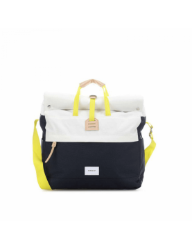 Sac à dos Sandqvist TOR SQA1170 Off white multi blue