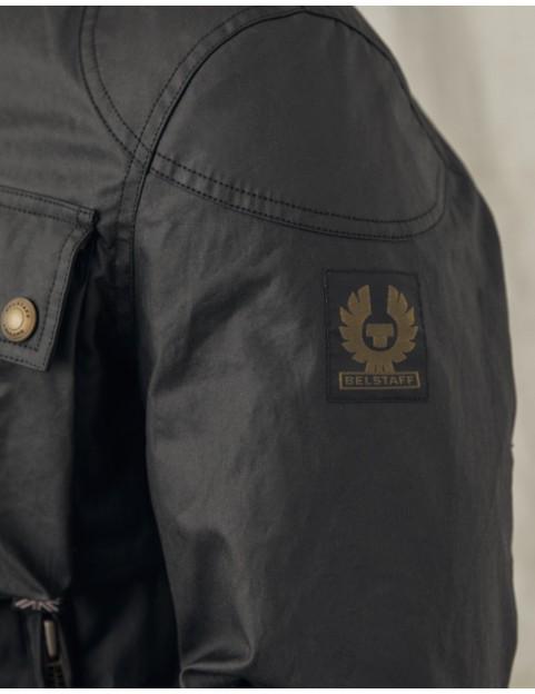 Blouson Belstaff Racemaster coton ciré black 71020816-90000 epaule