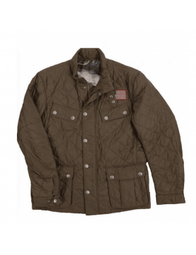 Veste Barbour International Jeffries MQU0370 olive