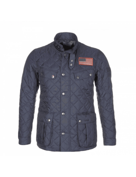 Veste Barbour Steve McQueen Jeffries navy MQU0370-NY91