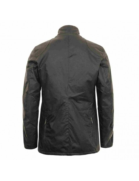 "Veste Barbour Beacon Sport  olive ""James Bond Skyfall "" MWX0007-OL71 dos"