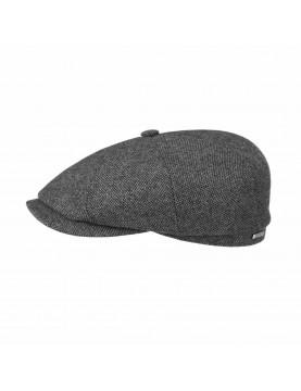 Casquette Stetson hatteras en laine fine grise 6840107-31