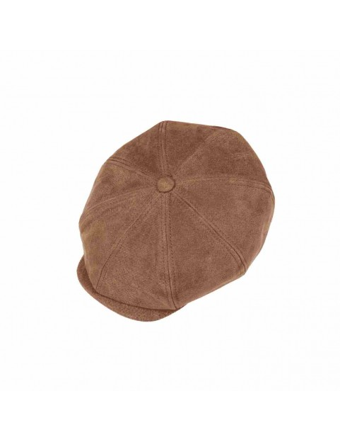 Casquette Stetson Hatteras burney marron 6897101-6 dessus