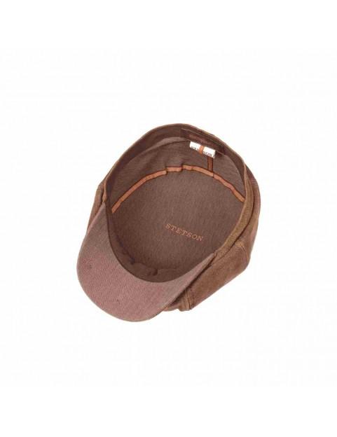 Casquette Stetson Hatteras burney marron 6897101-6 interieur