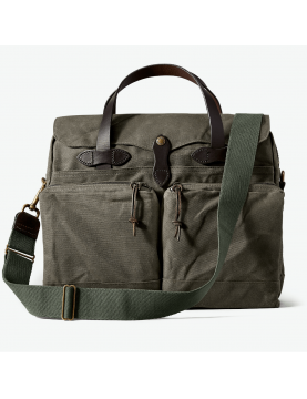 Sac Filson 24 H Tin CLoth wax Briefcase Otter Green  11070140-OTTERGREEN
