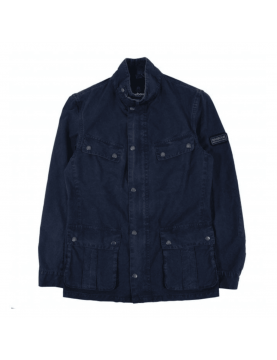 Veste Barbour summer wash Duke casual navy MCA0667-NY51