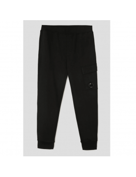 Bas de jogging C.P Company Diagonal raised fleece cargo black 10CMSP042A-005086W-999