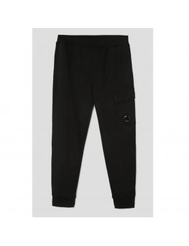 Bas de jogging C.P Company Diagonal raised fleece cargo black 10CMSP042A-005086W-999