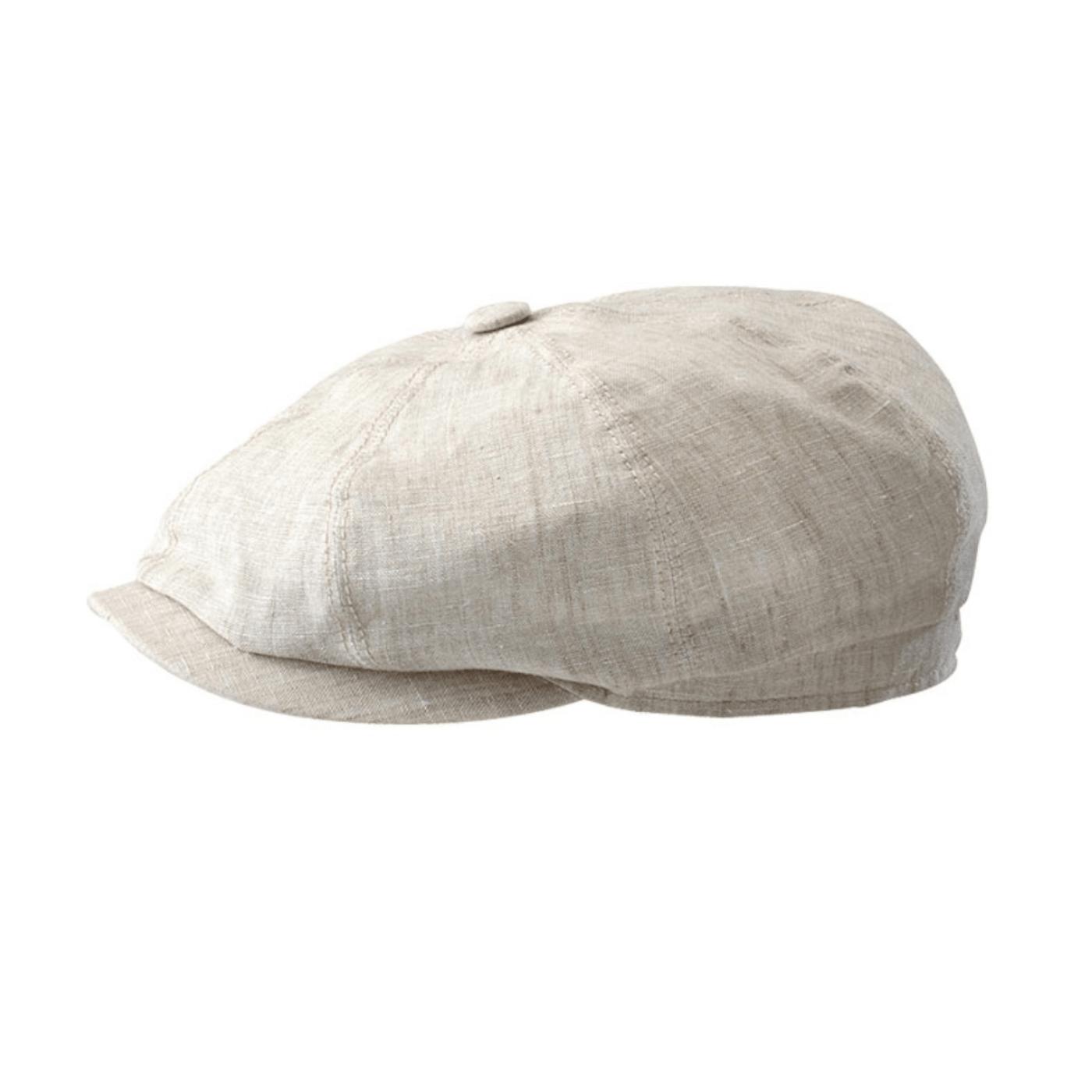 Casquette Stetson hatteras lin creme 6843101-71