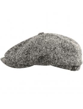 Casquette Stetson hatteras donegal laine grise 6840601-433