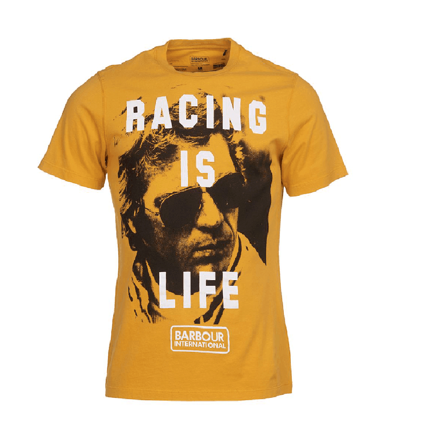 Tee shirt Barbour racing is life or