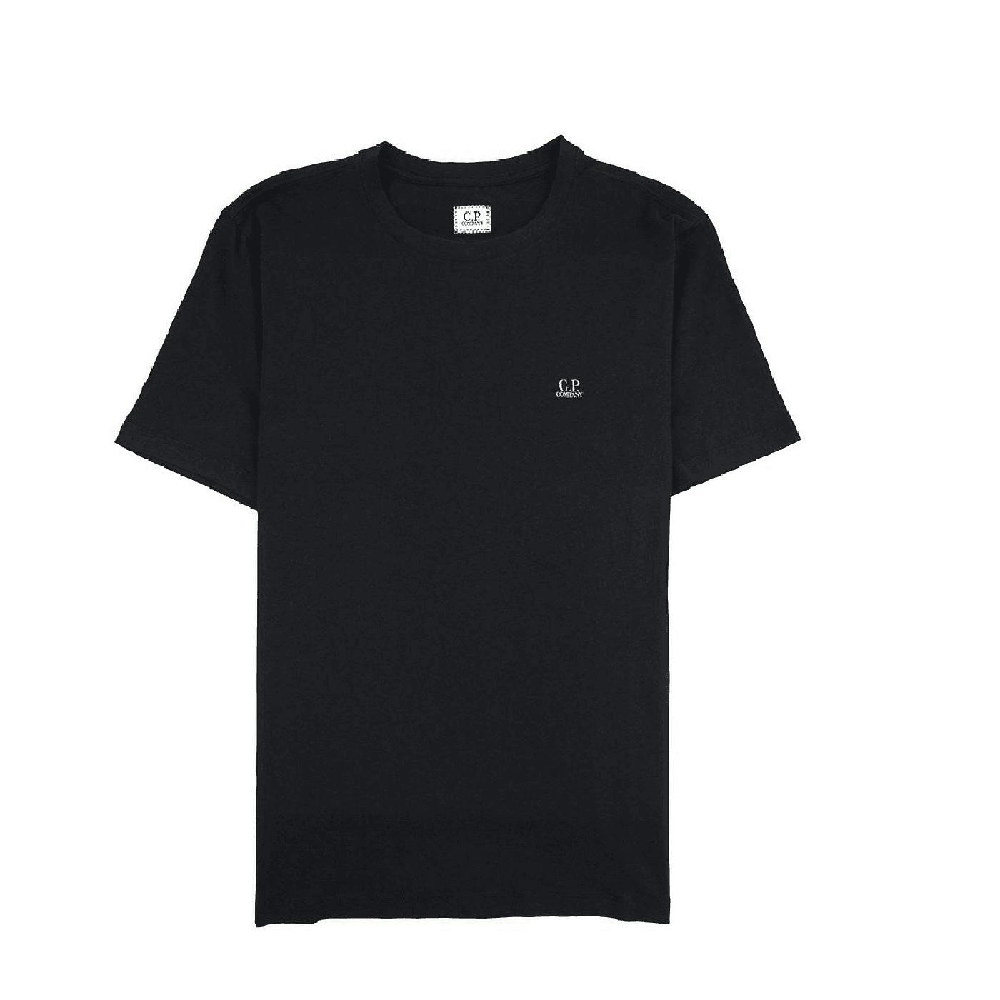 tee shirt CP Company goggle black
