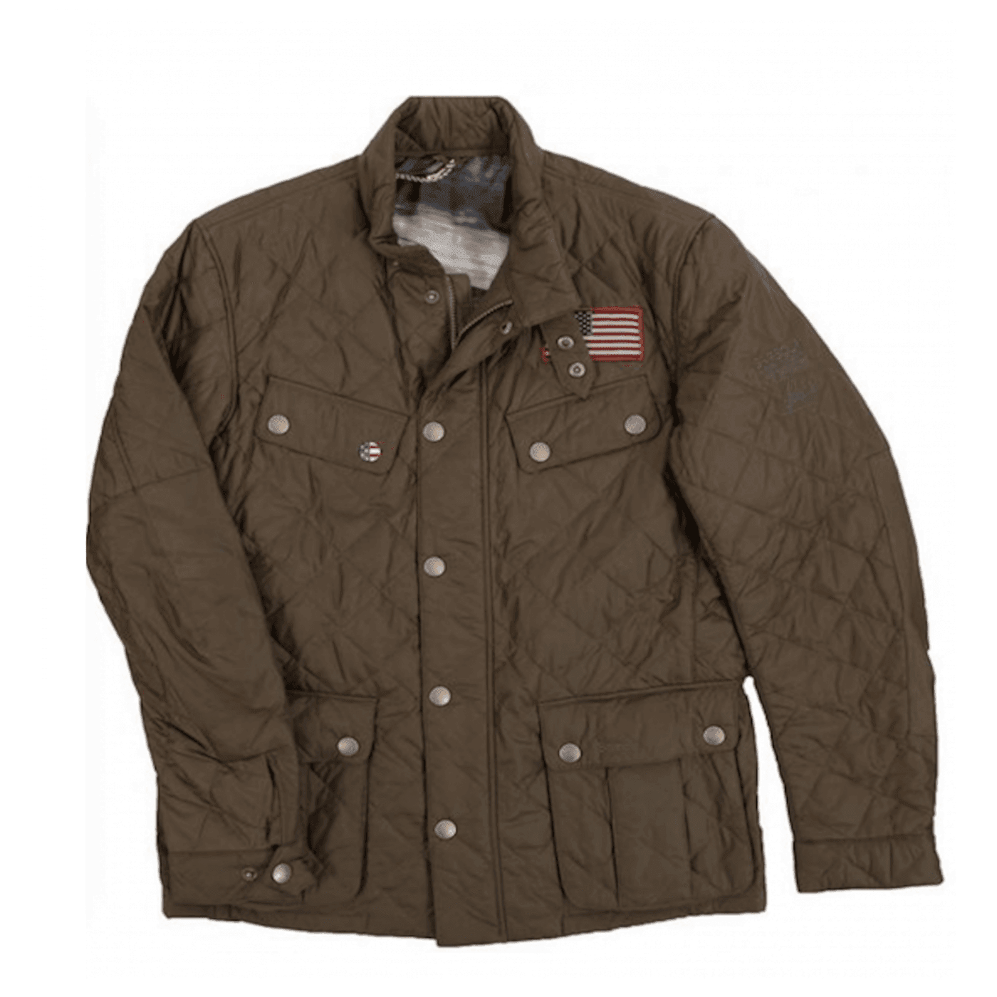 Veste Barbour Steve McQueen Jeffries Olive