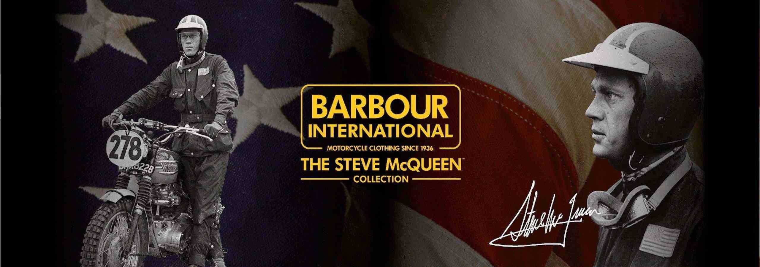 BARBOUR INTERNATIONAL STEVE MCQUEEN COLLECTION